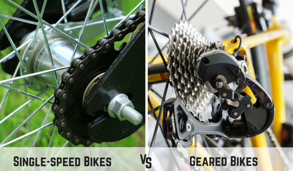 Single-speed vs. Geared Bikes 1