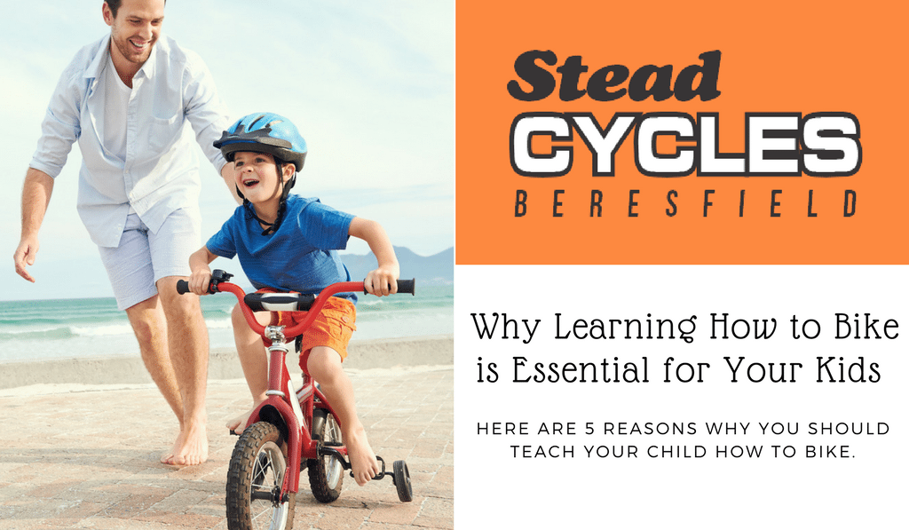 learning how to bike for kids