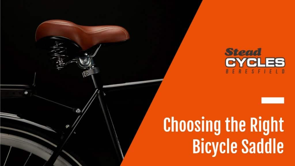 Choosing the Right Bicycle Saddle 1