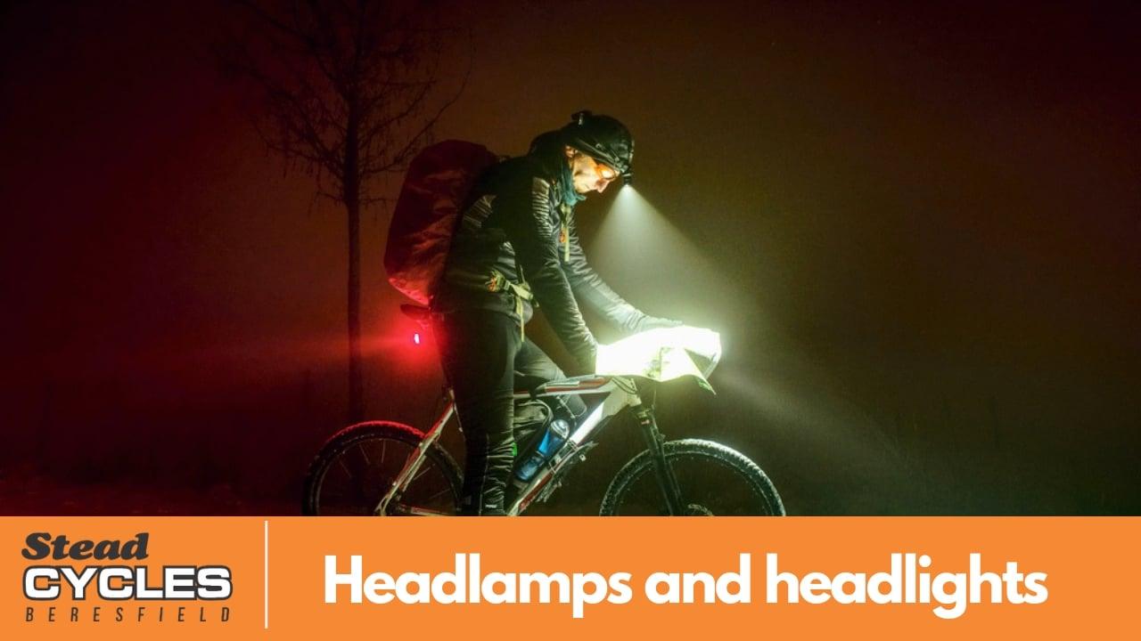 bike headlamps and headlights