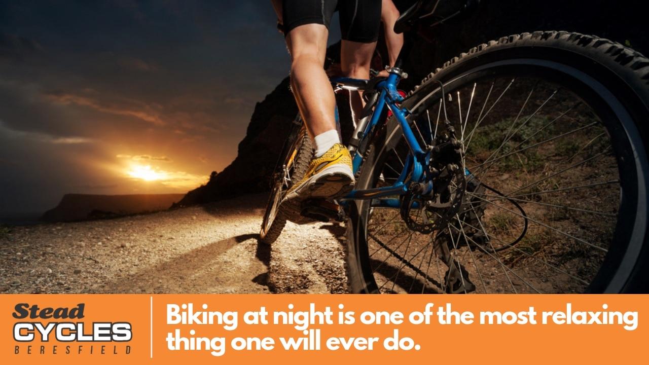 biking at night tips