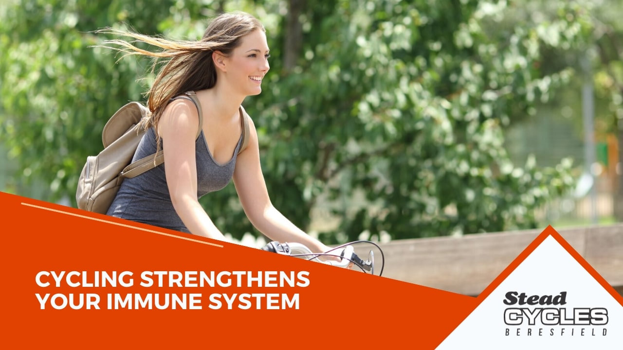 Cycling strengthens your immune system