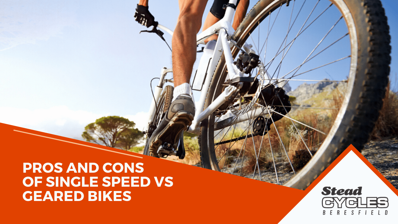 Single Speed vs Geared Bikes -