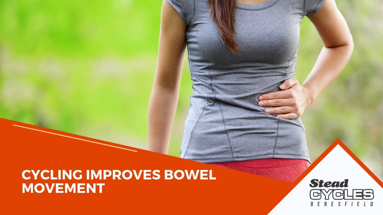 cycling improves bowel movement