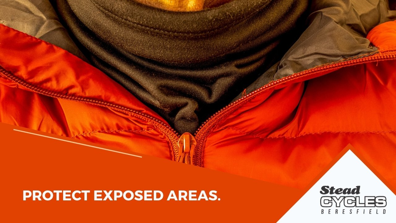 Protect exposed areas