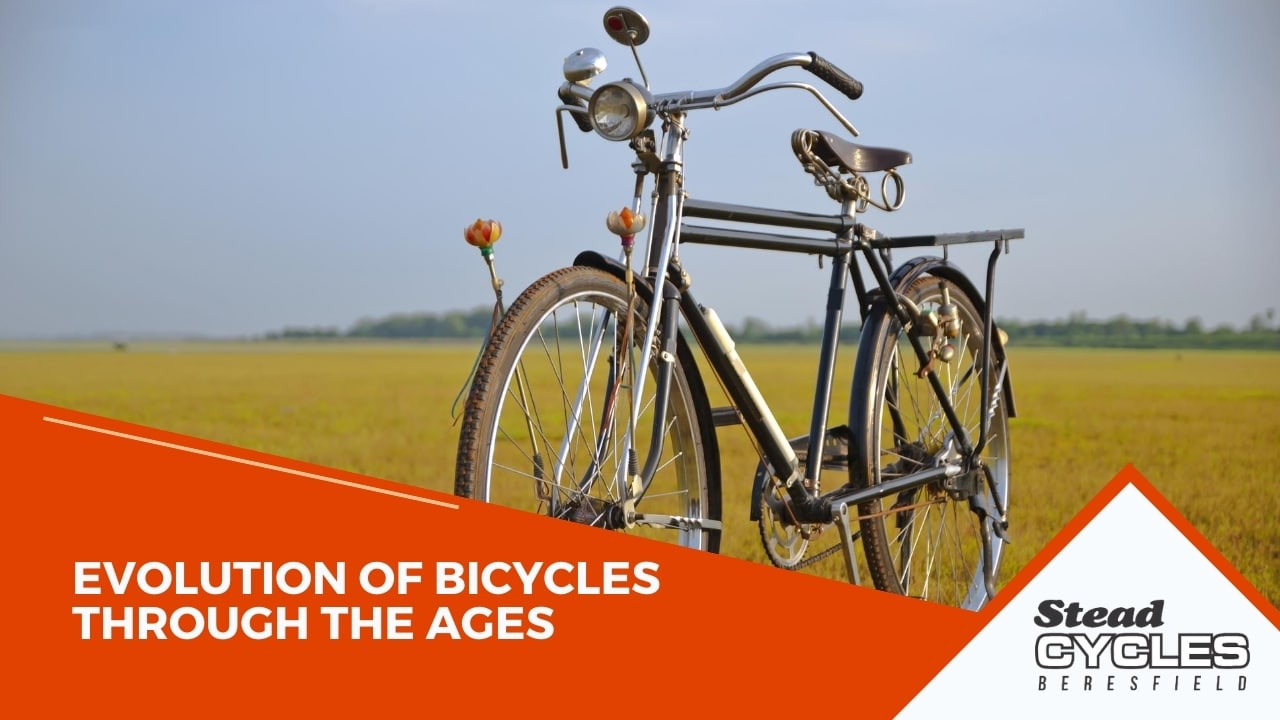 Evolution of Bicycles through the Ages