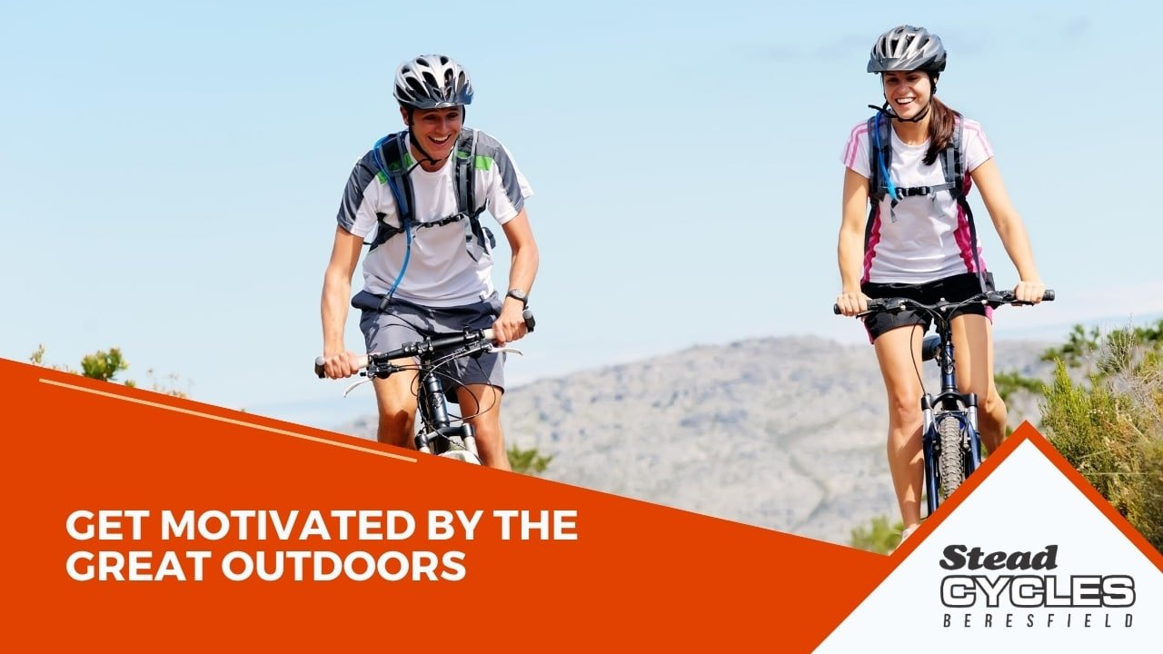 Get motivated by the great outdoors