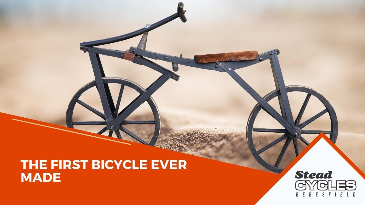 The First Bicycle Ever Made