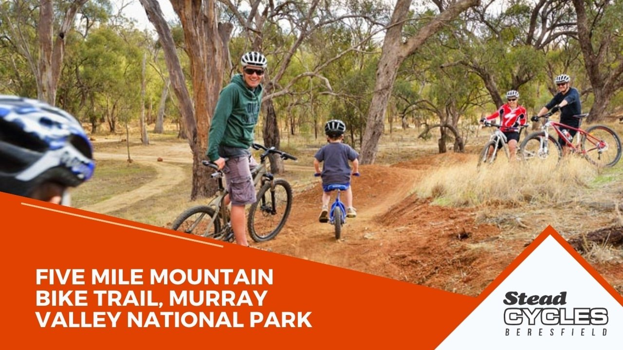 Five Mile Mountain Bike Trail, Murray Valley National Park