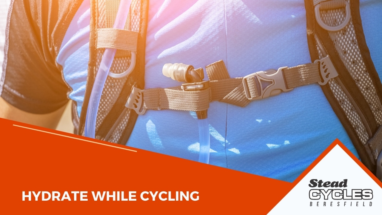 Hydrate while cycling
