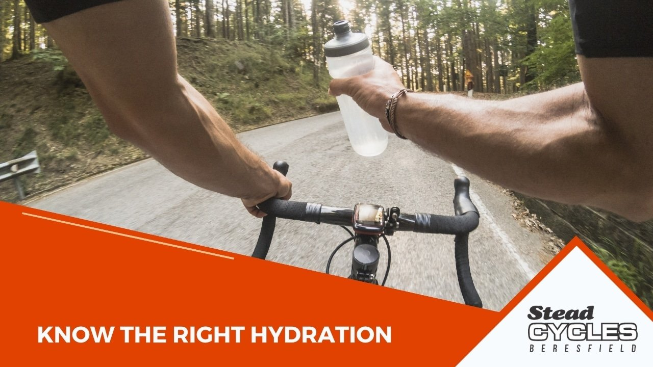 Know the right hydration