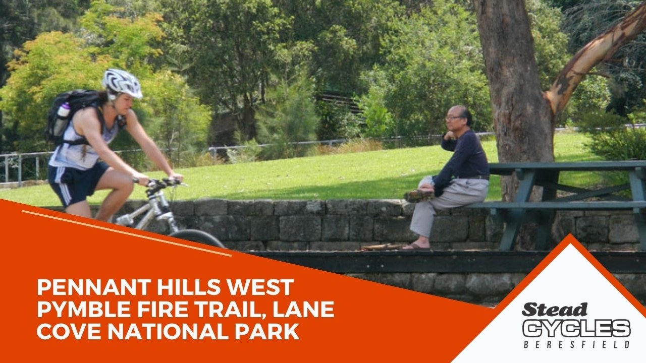 Pennant Hills West Pymble Fire Trail, Lane Cove National Park