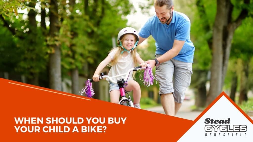 When Should You Buy Your Child a Bike