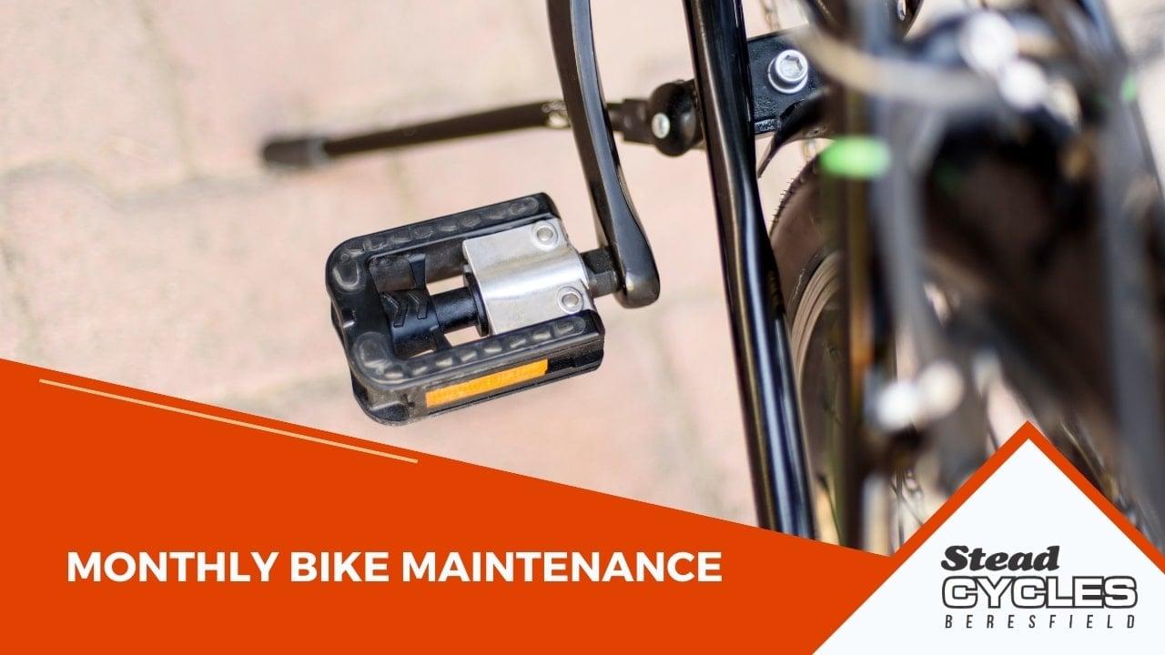 Monthly Bike Maintenance