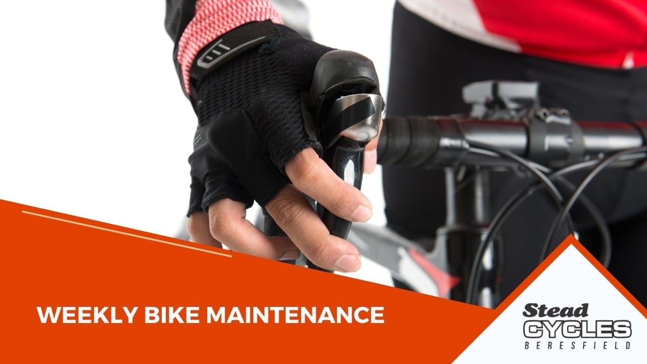 Weekly Bike Maintenance