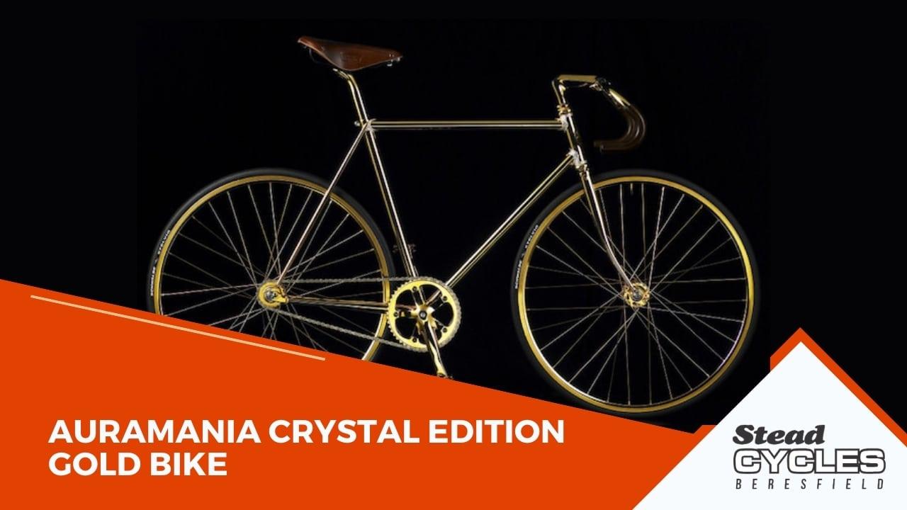 Auramania Crystal Edition Gold Bike