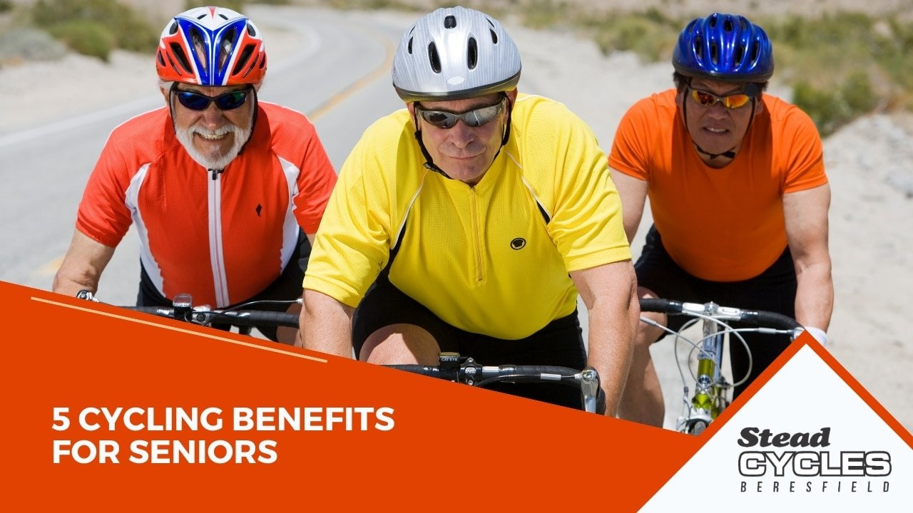 5 Cycling Benefits for Seniors