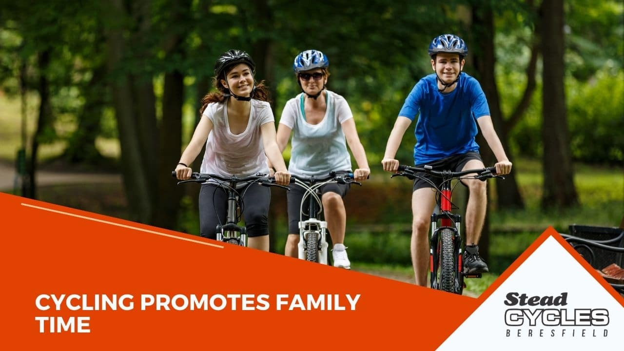 Cycling Promotes Family Time