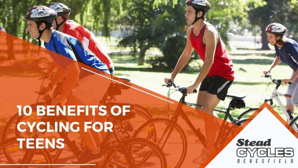 10 Benefits of Cycling for Teens