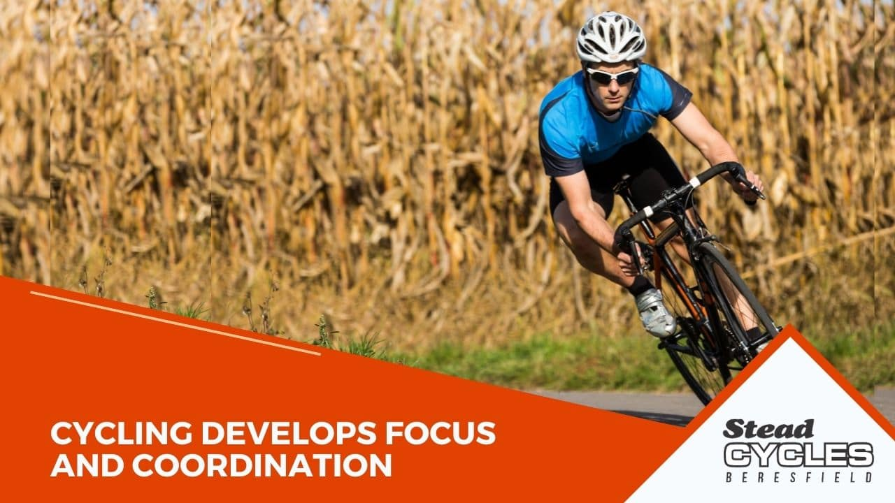 Cycling Develops Focus and Coordination