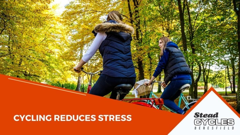 Cycling Reduces Stress