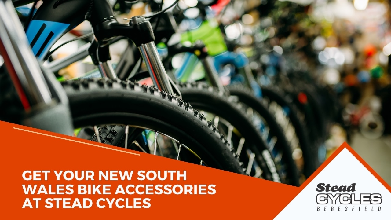 Get Your New South Wales Bike Accessories at Stead Cycles
